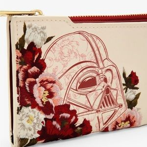 Loungefly Star Wars Darth Vader Floral Wallet